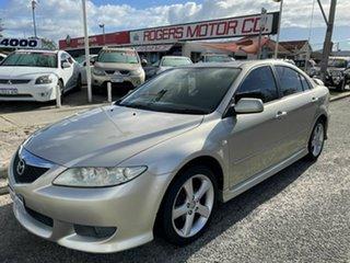 2003 Mazda 6 GG Luxury Sports Silver 4 Speed Auto Activematic Hatchback.