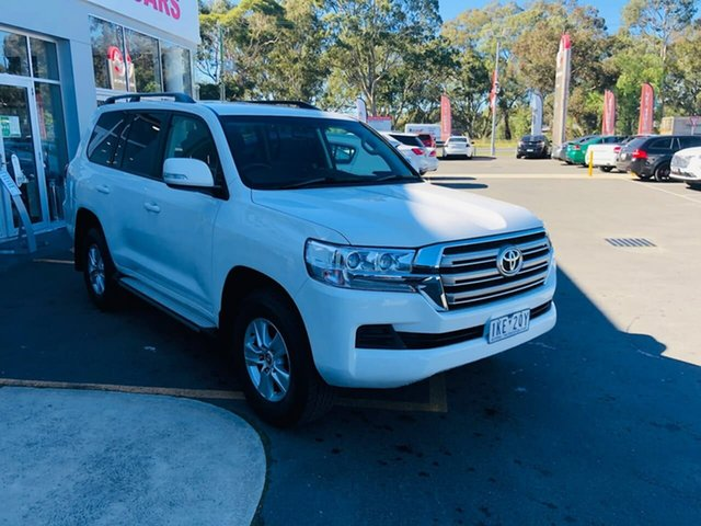 Used Toyota Landcruiser VDJ200R GXL Epsom, 2017 Toyota Landcruiser VDJ200R GXL White 6 Speed Sports Automatic Wagon