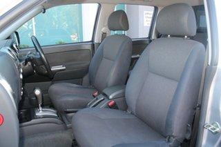 2009 Isuzu D-MAX TF LS (4x2) Silver 4 Speed Automatic Crew Cab Utility