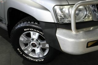 2006 Nissan Patrol GU IV MY06 ST Silver 5 Speed Manual Wagon.