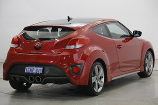 2013 Hyundai Veloster FS2 SR Coupe Turbo Veloster Red 6 Speed Sports Automatic Hatchback