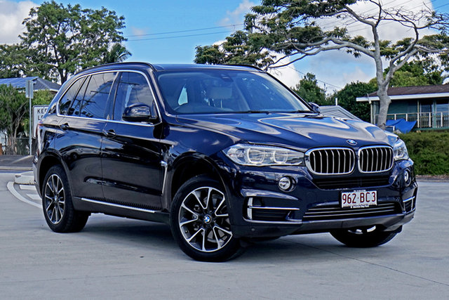 Used BMW X5 F15 xDrive25d Capalaba, 2014 BMW X5 F15 xDrive25d Imperial Blond 8 Speed Automatic Wagon