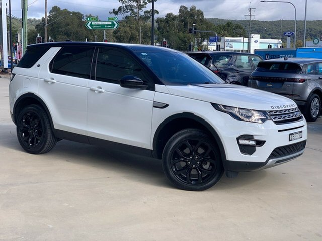 Used Land Rover Discovery Sport L550 19MY HSE West Gosford, 2019 Land Rover Discovery Sport L550 19MY HSE Fuji White 9 Speed Sports Automatic Wagon