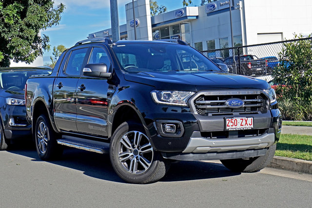 Used Ford Ranger PX MkIII 2020.25MY Wildtrak Ebbw Vale, 2020 Ford Ranger PX MkIII 2020.25MY Wildtrak Black 10 Speed Sports Automatic Double Cab Pick Up