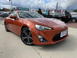 2012 Toyota 86 ZN6 GTS Orange 6 Speed Sports Automatic Coupe.