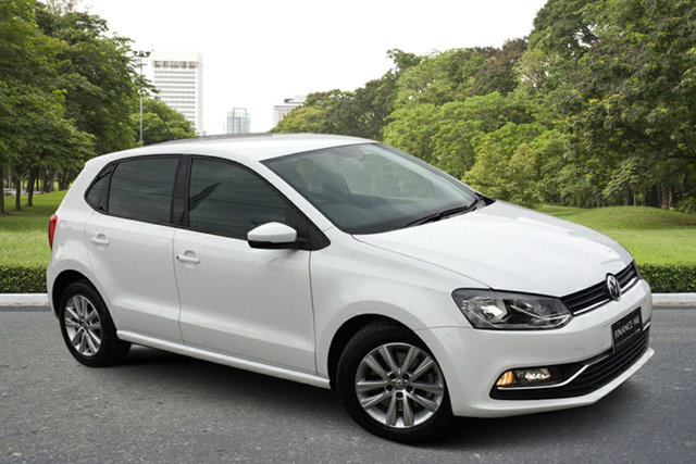 Used Volkswagen Polo 6R MY17 81TSI DSG Comfortline Paradise, 2017 Volkswagen Polo 6R MY17 81TSI DSG Comfortline White 7 Speed Sports Automatic Dual Clutch