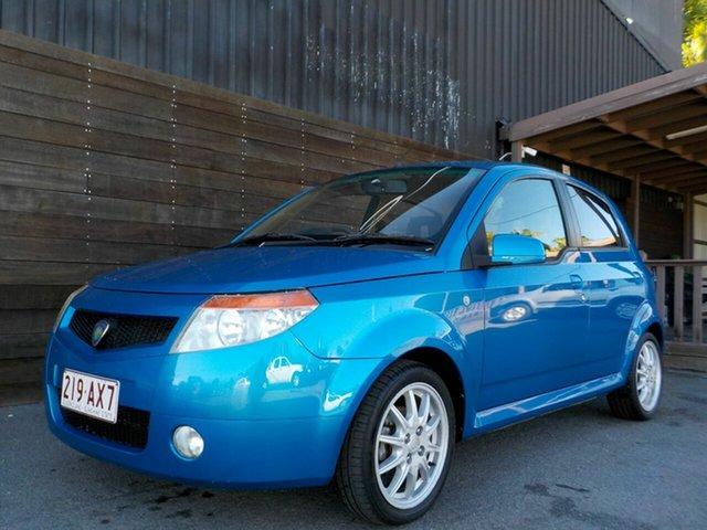 Used Proton Savvy BT S2 Labrador, 2007 Proton Savvy BT S2 Blue 5 Speed Seq Manual Auto-Clutch Hatchback