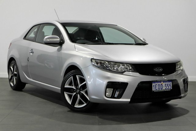Used Kia Cerato TD MY10 Koup Bayswater, 2009 Kia Cerato TD MY10 Koup Silver 5 Speed Manual Coupe