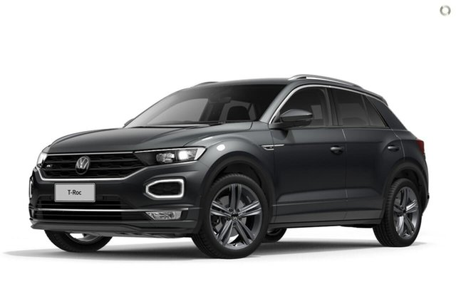 Demo Volkswagen T-ROC A1 MY21 140TSI DSG 4MOTION Sport Berwick, 2021 Volkswagen T-ROC A1 MY21 140TSI DSG 4MOTION Sport Grey 7 Speed Sports Automatic Dual Clutch