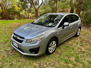 2012 Subaru Impreza G4 MY12 2.0i Lineartronic AWD Silver 6 Speed Constant Variable Hatchback