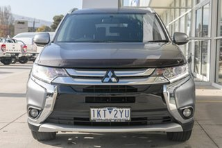 2017 Mitsubishi Outlander ZK MY17 LS 2WD Grey 6 Speed Constant Variable Wagon.