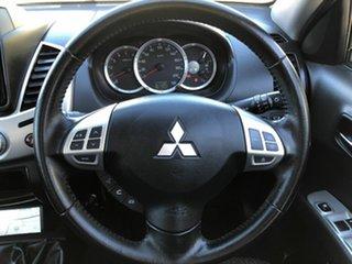 2014 Mitsubishi Triton MN MY15 GLX-R Double Cab Silver 5 Speed Manual Utility