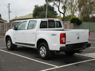 2012 Holden Colorado RG Turbo LX 4x4 White Automatic Dual Cab Utility.