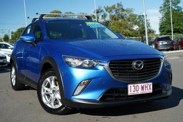 Used Mazda CX-3 DK2W7A Maxx SKYACTIV-Drive Hillcrest, 2016 Mazda CX-3 DK2W7A Maxx SKYACTIV-Drive Blue 6 Speed Sports Automatic Wagon