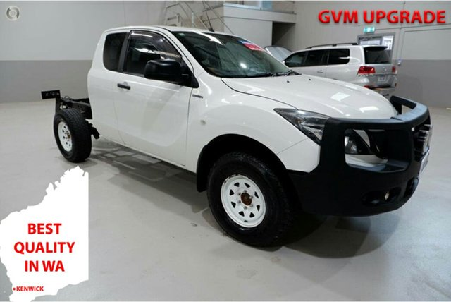 Used Mazda BT-50 UR0YF1 XT Freestyle Kenwick, 2016 Mazda BT-50 UR0YF1 XT Freestyle White 6 Speed Sports Automatic Cab Chassis