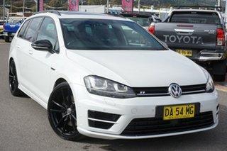 2015 Volkswagen Golf VII MY16 R DSG 4MOTION Wolfsburg Edition Oryx White 6 Speed.