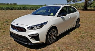 2021 Kia Cerato BD MY21 GT DCT Clear White 7 Speed Automatic Hatchback