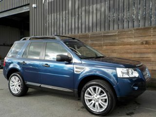 2010 Land Rover Freelander 2 LF 10MY Td4 SE Blue 6 Speed Sports Automatic Wagon.