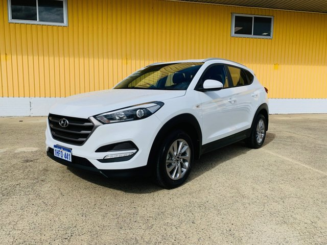 Used Hyundai Tucson TLe MY17 Active AWD Canning Vale, 2017 Hyundai Tucson TLe MY17 Active AWD White 6 Speed Sports Automatic Wagon