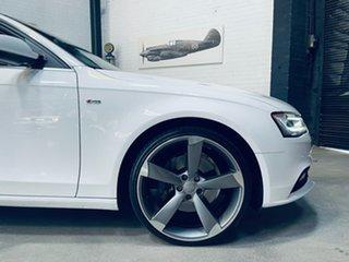 2012 Audi A4 B8 8K MY13 Quattro White 6 Speed Manual Sedan.