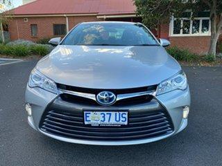 2015 Toyota Camry AVV50R Hybrid H Silver 1 Speed Constant Variable Sedan Hybrid