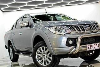 2015 Mitsubishi Triton MQ MY16 Exceed (4x4) Grey 5 Speed Automatic Dual Cab Utility.