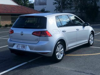 2014 Volkswagen Golf VII MY15 90TSI DSG Comfortline Silver 7 Speed Sports Automatic Dual Clutch.