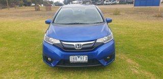 2016 Honda Jazz GF MY16 VTi-L Blue 1 Speed Constant Variable Hatchback.