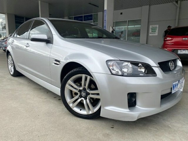 Used Holden Commodore VE SV6 Melton, 2008 Holden Commodore VE SV6 Silver 5 Speed Sports Automatic Sedan