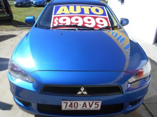2010 Mitsubishi Lancer CJ MY10 Activ Blue 6 Speed Constant Variable Sedan.