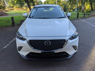 2018 Mazda CX-3 DK2W7A Maxx SKYACTIV-Drive White 6 Speed Sports Automatic Wagon.