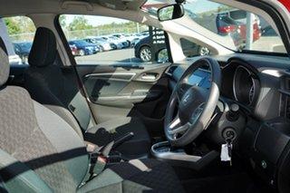 2016 Honda Jazz GF MY17 VTi Red 1 Speed Constant Variable Hatchback