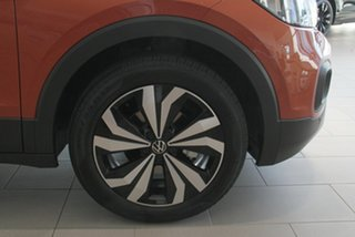 2021 Volkswagen T-Cross C1 MY21 85TSI DSG FWD CityLife Orange 7 Speed Sports Automatic Dual Clutch