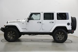 2018 Jeep Wrangler JK MY18 Golden Eagle White 6 Speed Manual Softtop.