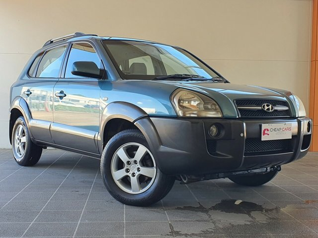 Used Hyundai Tucson JM Elite Brendale, 2005 Hyundai Tucson JM Elite Blue 4 Speed Sports Automatic Wagon