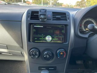 2007 Toyota Corolla ZRE152R Ascent Silver 4 Speed Automatic Sedan
