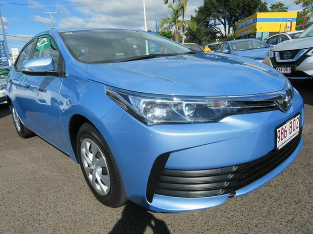 Used Toyota Corolla ZRE172R Ascent S-CVT Mount Gravatt, 2019 Toyota Corolla ZRE172R Ascent S-CVT Blue 7 Speed Constant Variable Sedan
