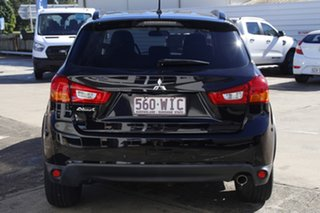 2016 Mitsubishi ASX XB MY15.5 LS 2WD Black 6 Speed Constant Variable Wagon