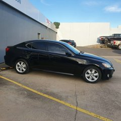 2007 Lexus IS GSE20R IS250 Prestige Black 6 Speed Sports Automatic Sedan.