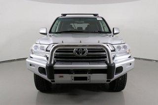 2017 Toyota Landcruiser VDJ200R MY16 GXL (4x4) Silver 6 Speed Automatic Wagon.