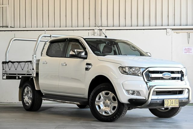 Used Ford Ranger PX MkII 2018.00MY XLT Double Cab Laverton North, 2017 Ford Ranger PX MkII 2018.00MY XLT Double Cab White 6 Speed Sports Automatic Utility