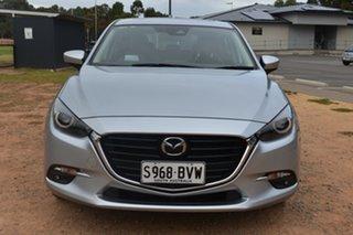 2018 Mazda 3 BN5438 SP25 SKYACTIV-Drive Astina Silver 6 Speed Sports Automatic Hatchback