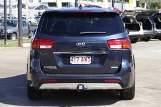 2016 Kia Carnival YP MY16 Platinum Deep Blue 6 Speed Sports Automatic Wagon