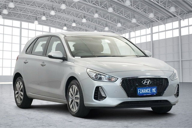 Used Hyundai i30 PD2 MY20 Active Victoria Park, 2020 Hyundai i30 PD2 MY20 Active Typhoon Silver 6 Speed Sports Automatic Hatchback