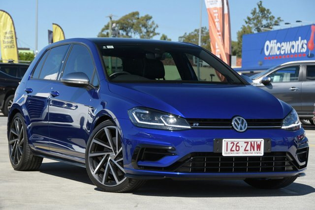 Used Volkswagen Golf 7.5 MY20 R DSG 4MOTION Aspley, 2020 Volkswagen Golf 7.5 MY20 R DSG 4MOTION Blue 7 Speed Sports Automatic Dual Clutch Hatchback