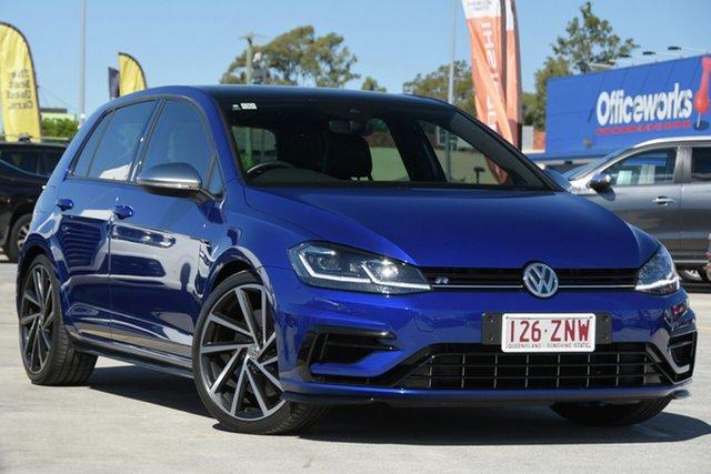 Used Volkswagen Golf 7.5 MY20 R DSG 4MOTION Aspley, 2020 Volkswagen Golf 7.5 MY20 R DSG 4MOTION Blue 7 Speed Sports Automatic Dual Clutch Hatchback