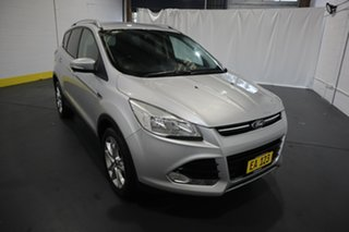 2014 Ford Kuga TF Trend AWD Silver 6 Speed Sports Automatic Wagon.
