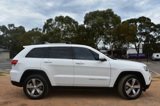 2012 Jeep Grand Cherokee WK MY2012 Limited White 5 Speed Sports Automatic Wagon.