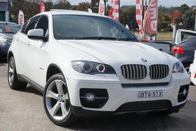 Used BMW X6 E71 MY10.5 xDrive40d Coupe Steptronic Phillip, 2010 BMW X6 E71 MY10.5 xDrive40d Coupe Steptronic White 8 Speed Sports Automatic Wagon