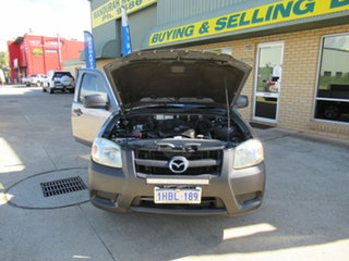 2009 Mazda BT-50 UN DX (4x2) Silver 5 Speed Manual Cab Chassis.